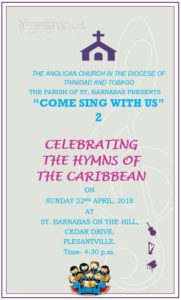 St. Barnabas Come Sing with Us 2